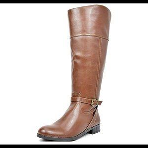 0469 Women's Knee High Winter Wide Calf Boots